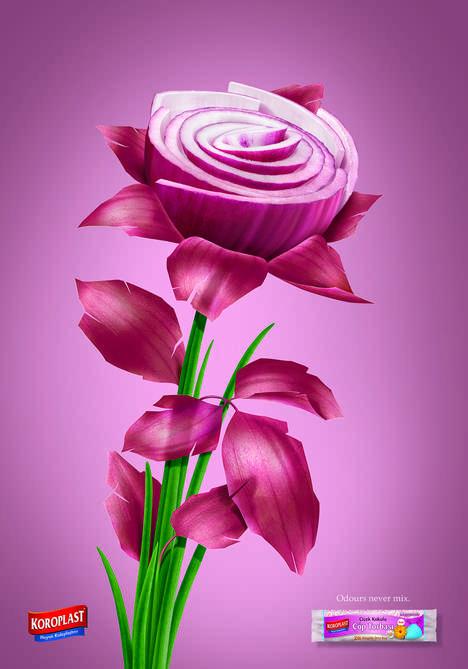 Foul-Smelling Floral Ads