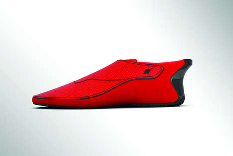 Vibrating Visually-Impaired Footwear