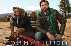 Urban Safari Fashion Campaigns - The Tommy Hilfiger Fall/Winter 2014/2015 Ads Display Expeditions