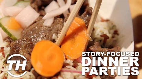 Story-Focused Dinner Parties