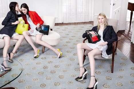 Subdued Boudoir Fashion Campaigns