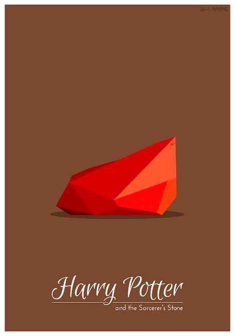 Minimalist Animated Movie Posters