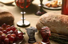 Mythical Map Salt Dispensers - These Game of Thrones Spice Shakers Pit Stark Against Pepper