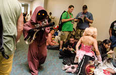 Realistic Cosplay Costumes - The Verge Rounds Up Their Favorite San Diego Comic-Con Cosplayers