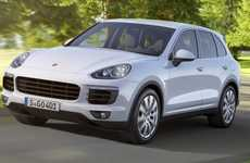 Sporty Hybrid-Electric SUVs - The 2015 Porsche Cayenne Series Includes a Powerful Gas-Electric SUV