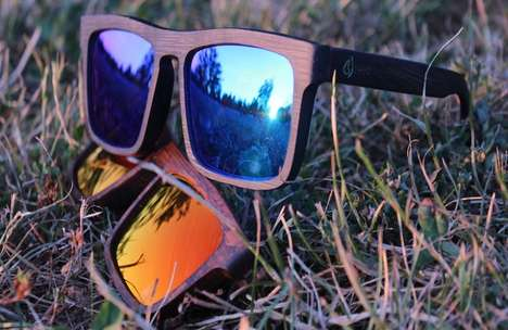 Sustainable Wooden Sunglasses - Every Purchase of the Seed Colored Sunglasses Plants Five New Trees