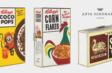 Vintage Cereal Clutches - Anya Hindmarch's Cereal Box Bags Make Breakfast Ultra Chic