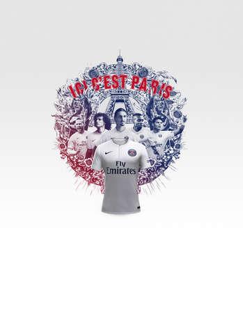 Posh Parisian Soccer Kits