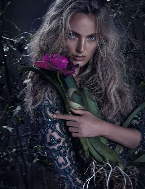 Bewitched Gardener Fashion Campaigns