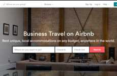 Business Travel Rental Services - Airbnb's Business Travel Rentals Cater to Those Who Travel & Work