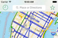 Bicycling Route Apps - The CycleMap App Charts the Best Bike Routes Around the World