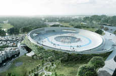Sinuous Zoo Designs - BIG Architecture Firm Envisions a Circular Look for the Givskud Zoo
