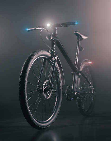 Smart Connected Urban Bikes