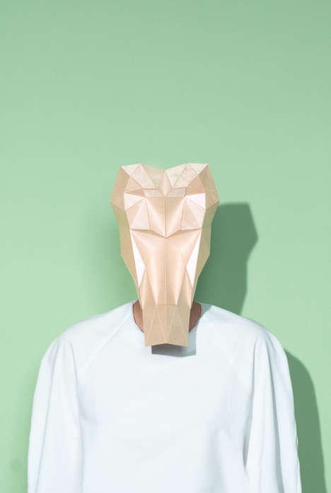 Geometric Tribal Masks