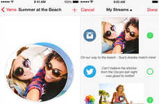 Social Curation Apps - The Yarnee Content Collector App Weaves Your Best Social Media Posts Together