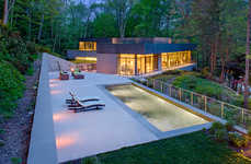 Environmentally Blending Homes - Weston Residence's Sustainable House Merged With the Environment
