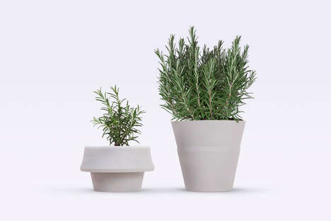 Self-Growing Planters