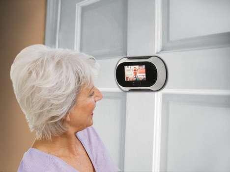 360 Degree Peepholes Peep Rotating Door Peephole