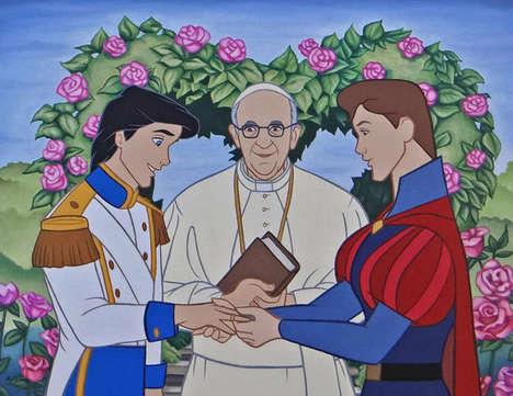 Subversive Disney Illustrations