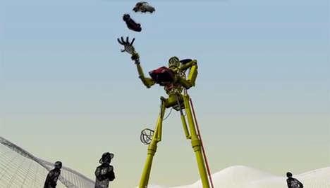Car-Juggling Robots