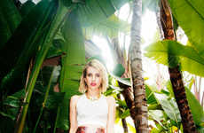 Designer Label-Loving Celebs - The Emma Roberts Edit for Jimmy Choo Showcases Her Fave Fall Pieces