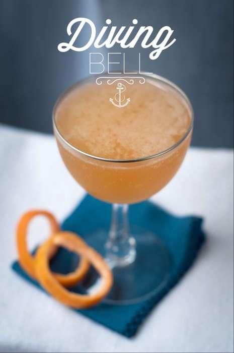 Nautical Elderflower Cocktails
