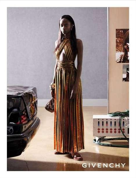 Upscale Traveler Fashion Campaigns