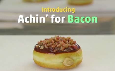 Peppery Bacon Donuts