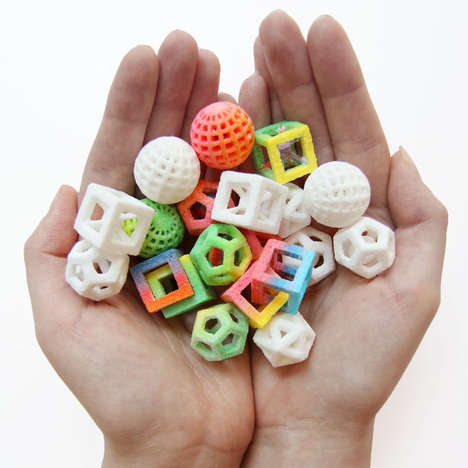 3D-Printed Candy Creations - The Sugar Lab Creates Colorful Treats Using Modern Technology