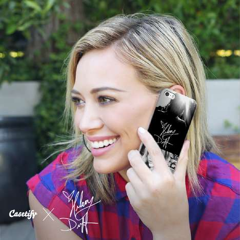 Celebrity Smartphone Sheaths - The Hilary Duff x Casetify Collaboration Transforms Photos into Cases