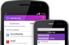 Accessible Internet Apps - The Facebook Internet.org App Brings Free Web Services to South Africans