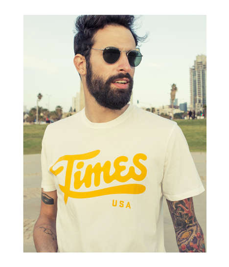 Urban Californian Apparel - 'These Are the Times' Get the Laid-Back Hipster Look Just Right
