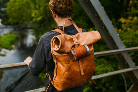 Rustic Leather Accessories - This Line of Artisan Leather Goods is Durable and Achingly Hip