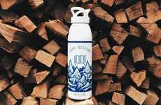 Topographic Water Bottles - The Topo x John Fellows Aluminum Water Bottle Will Keep You Hydrated