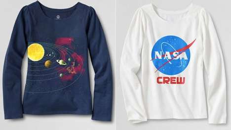 Girly Science Apparel