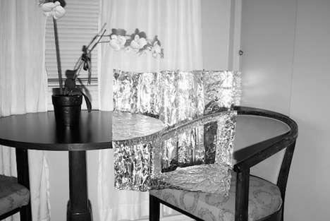 Tin Foil Sculptures