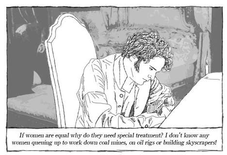 Prejudiced Commentary Comics