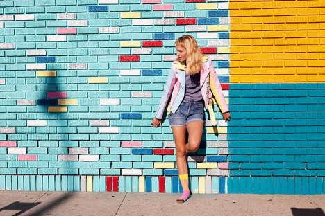 Vibrant Sock Lookbooks