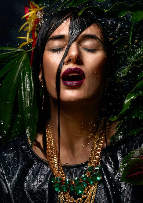 Tropically Drenched Editorials