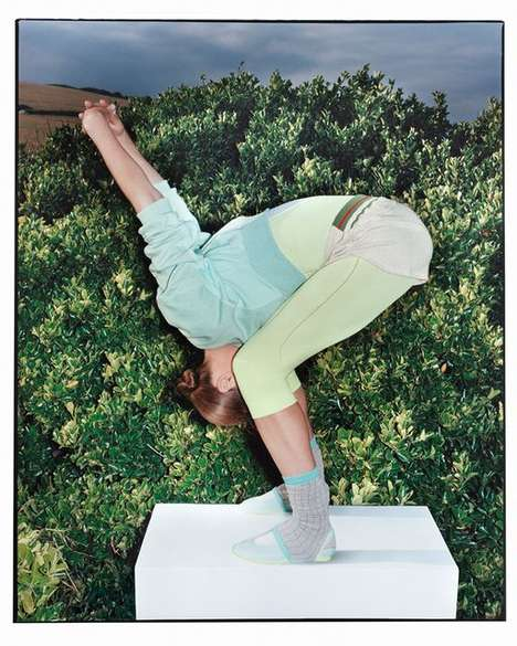 Youthful Yogi Fashion Campaigns