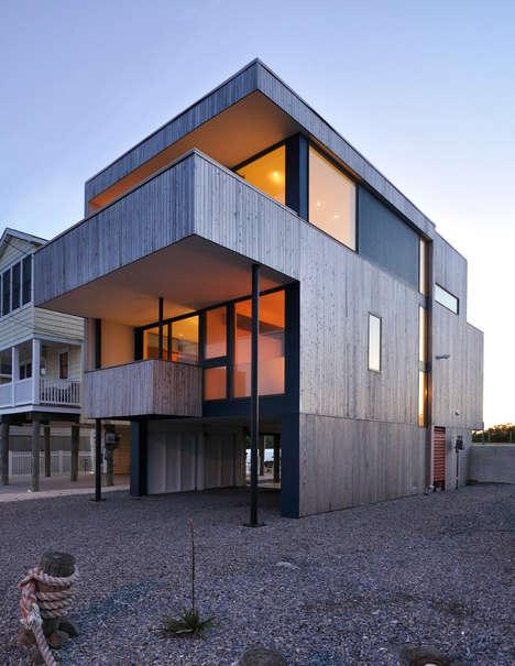 Sleek Jersey Shore Structures