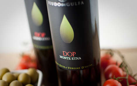 Monte Etna DOP Displays a Minimalist Olive on the Front