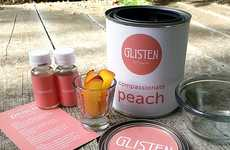 Paint-Like Spa Packaging - The Glisten DIY Spa Kit Looks Like a Paint Can