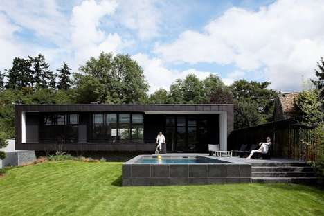 Integrated Poolside Abodes
