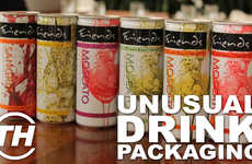 Unusual Drink Packaging - Courtney Scharf Reflects on Lowbrow Alcohol Branding