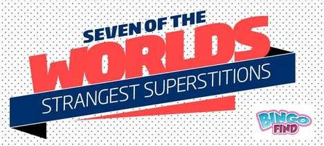 Strange Superstition Infographics