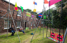 Interactive Playground Installations - Swing it! Encourages People to Think about Playful Memories