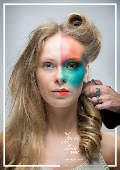 Split Beauty Ads