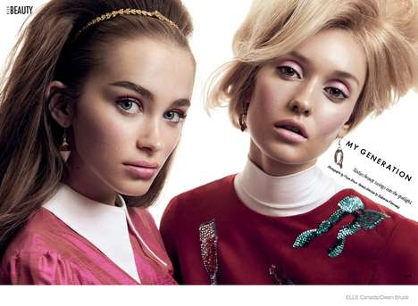 60s Beauty Editorials