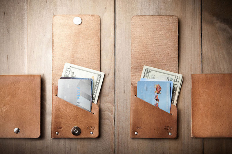 Super Slim Leather Wallets